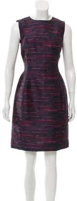 Oscar de la Renta 2016 Fringe Sheath Dress