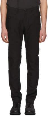 Ziggy Chen Black Low Pocket Trousers