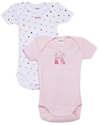 Absorba Underwear Baby Girls 6L60196-RA Bodysuit (Pack of 2) ba3025b7d28