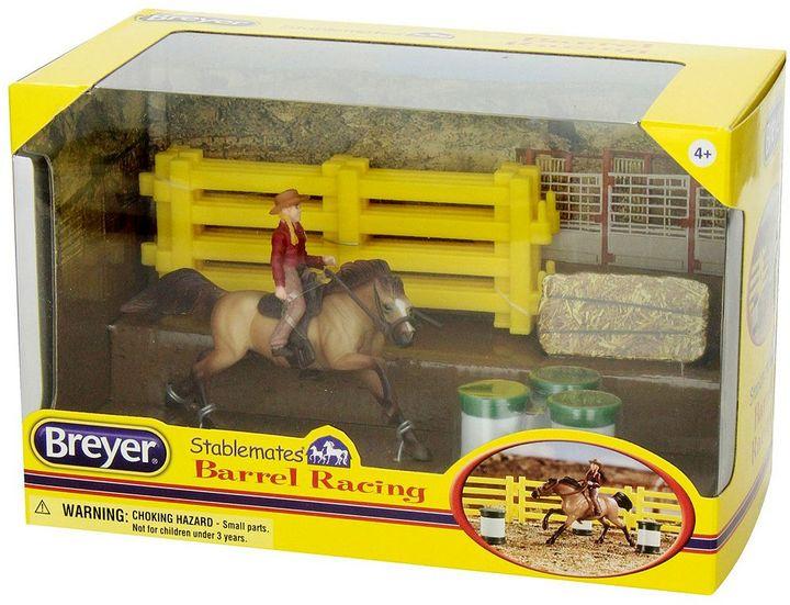 Breyer Stablemates Barrel Racing Set