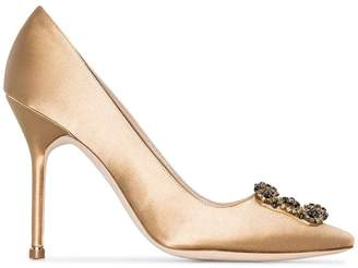 Manolo Blahnik Hangisi 105mm pumps