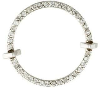 Paige Novick Phyne by 14K Diamond Open Circle Single Earring