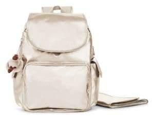 Kipling Zax Metallic Backpack Diaper Bag