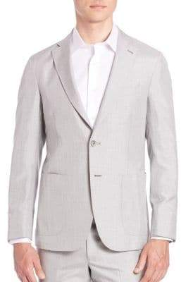 Saks Fifth Avenue Classic Silk Sportcoat