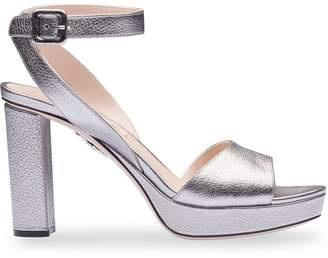 fa7e947c2 Miu Miu Block Heel Women s Sandals - ShopStyle