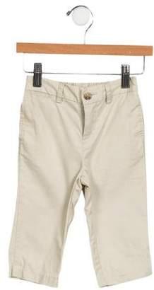 Ralph Lauren Boys' Woven Flat Front Pants