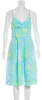 Lilly Pulitzer Printed Fit-and-Flare Dress