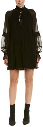 Stevie May Pleated Shift Dress