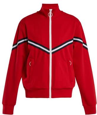 The Upside Margot Technical Jersey Track Jacket - Womens - Red