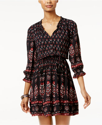 American Rag Printed Ruffled Peasant Dress, Only at Macy's $69.50 thestylecure.com
