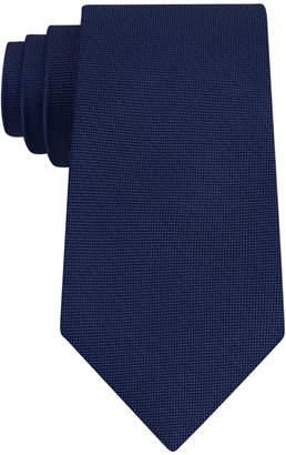 Club Room Men's Pebble Solid Silk Tie
