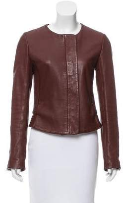 A.L.C. Cropped Leather Jacket