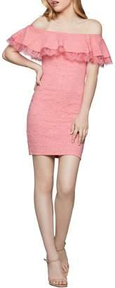 BCBGeneration Off The Shoulder Bodycon Dress