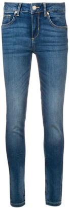 Liu Jo faded slim jeans