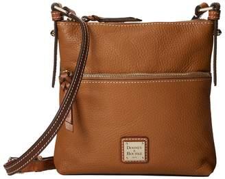Dooney & Bourke Pebble Leather Letter Carrier Cross Body Handbags