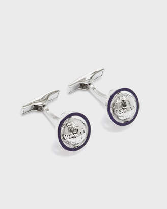 Ted Baker KEEPUP Spinning globe cufflinks