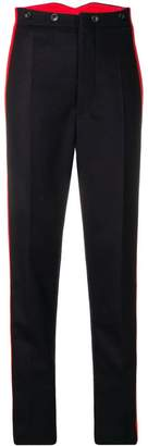 Joseph side stripe trousers
