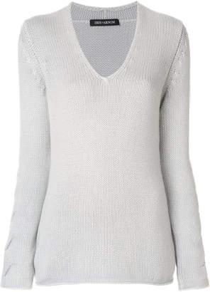 Iris von Arnim cashmere V-neck sweater