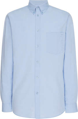 Givenchy Logo-Embroidered Cotton-Poplin Shirt