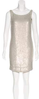 Kaufman Franco Kaufmanfranco Sequin Mini Dress