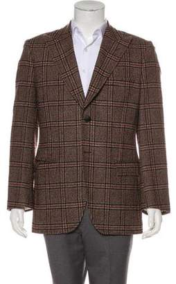 Dolce & Gabbana Wool Peak-Lapel Blazer