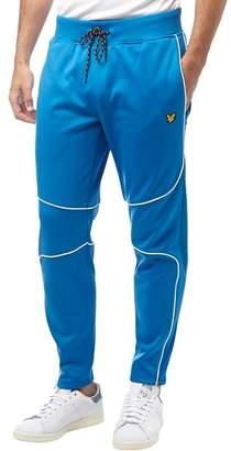 Lyle & Scott Fitness Mens Law Slim Fit Fleece Track Pants Deep Cobalt