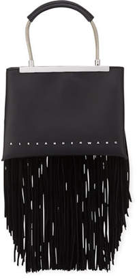 Alexander Wang Dime Small Fringe Satchel Bag