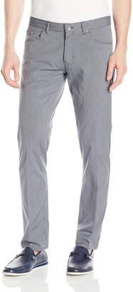 Calvin Klein Men's Slim Fit 5 Pocket Mini Stripe Stretch Pant