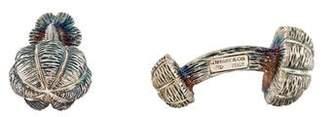 Tiffany & Co. Textured Cufflinks