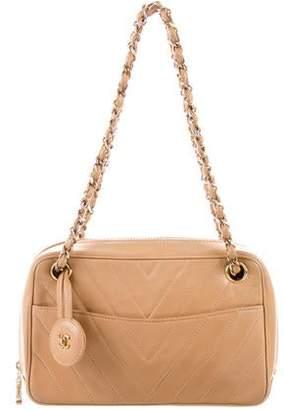 Chanel Chevron Camera Bag