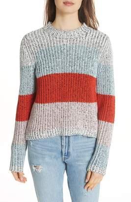 La Ligne Chunky Crop Cotton Sweater