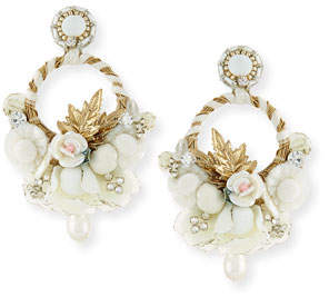 Ranjana Khan Yvonne Clip-On Chandelier Earrings