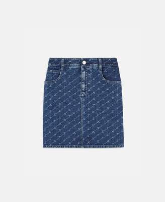 Stella McCartney Denim Mini Skirt, Women's