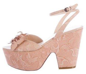 Bottega VenetaBottega Veneta Butterfly Platform Sandals