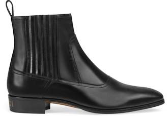 Gucci Leather Chelsea boot