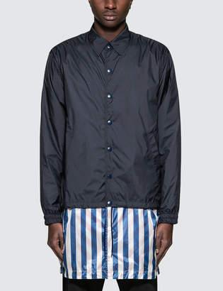 Facetasm 3D Layer Long Coach Jacket