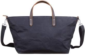 Touri Extra Large Tote Style Duffle In Charcoal Black