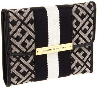 Tommy Hilfiger Women's Bar Web Slgs 6913605-113 Wallet
