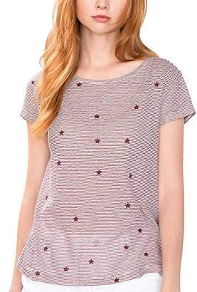 Esprit edc by Women's 086cc1k064 T-Shirt,(Manufacturer size: Medium)