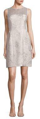 Elie Tahari Winny Textured Dress $598 thestylecure.com