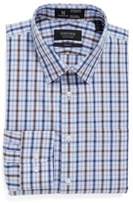 Men's Nordstrom Men's Shop Smartcare(TM) Trim Fit Plaid Dress Shirt $69.50 thestylecure.com