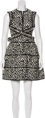DSQUARED2 Printed Mini Dress