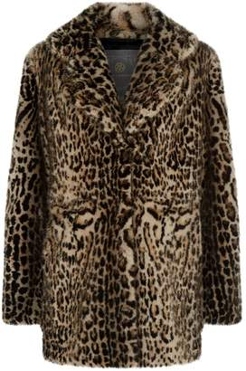 Lilly E Violetta Mink Fur Coat