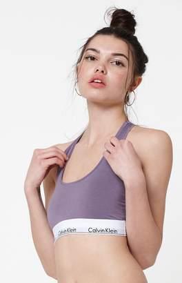 Calvin Klein Modern Cotton Unlined Sports Bra