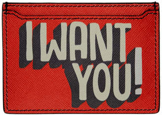 Ports 1961 Orange I Want You Card Holder