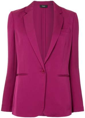 Theory single button blazer
