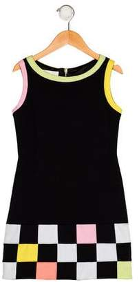 Biscotti Girls' Patterned Shift Dress