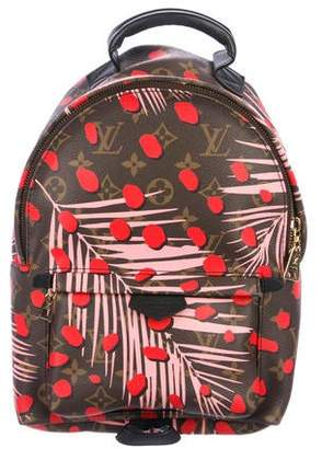 Louis Vuitton Monogram Jungle Dots Palm Springs Backpack PM