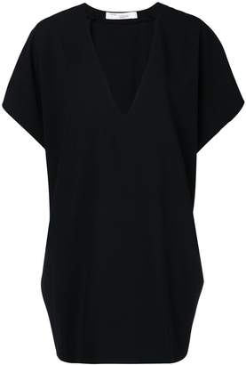 IRO plunge neck T-shirt dress