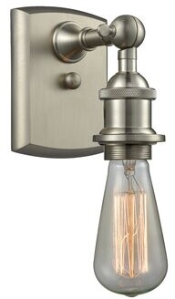 17 Stories Briele Bare Bulb 1-Light Armed Sconce 17 Stories